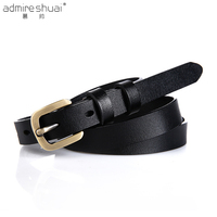 Womens Designer Belts Top Cow Genuine Leather Belts For Women Jeans 100 Cowhide Pin BuckleHigh Quality