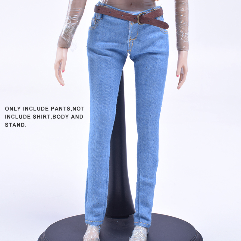 1/6 Scale Women's Clothes Annex Female skinny Jeans Tight CF001 A/B/C for 12 Inch PH Doll Jiaoudol BodyAction Figure Accessories-5