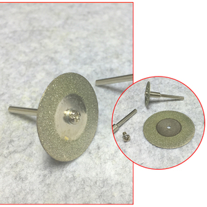 Image 5 - Heißer! 10Pcs Diamant Trennscheiben Cut off Halten Rad Set Für Dremel Dreh Werkzeug Schneiden/Schleifen/Gravur werkzeuge