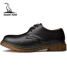 2a47c43e7314 Брендовые мужские ботинки в стиле «Дезерт Рам», большие размеры 35-46,  Новые повседневные кожаные ботинки Martens Doc martins, Мужская обувь в  стиле ми.