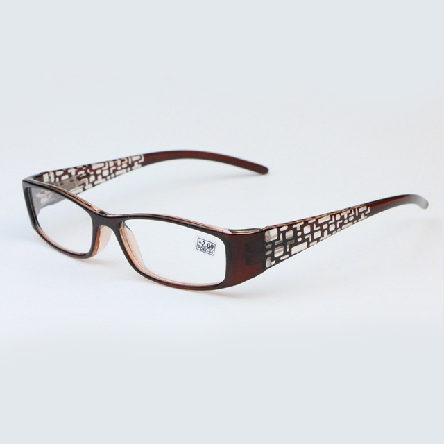 Cozy Square Black Frame Resin Presbyopia eye Reading Glasses +1.0 1.25 1.5 1.75 2.0 2.5 3.0 to 4.0 R188