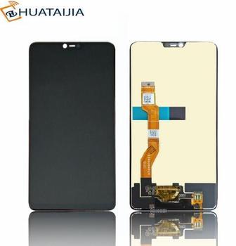 Negro de alta calidad de 6,23 pulgadas para Oppo F7 completa LCD pantalla + pantalla táctil digitalizador Asamblea reemplazo envío gratis