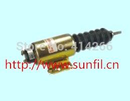 Wholesale Fuel Shutdown Solenoid 2370-12E2U1B2A 2300-1503+fast&cheap shipping,12V shut down solenoid 2370 24e2u1b2a 2300 1503 24v solenoid 5 pcs on sale