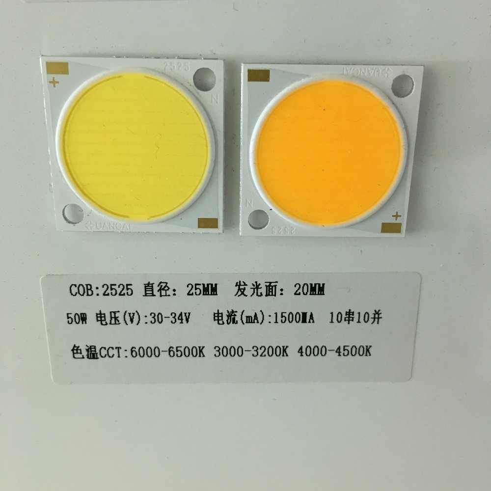 10pcs 15w/20w/30W/50W LED White/Warm White Mirror Aluminum COB Lamp floodlights spotlights sanan chips  Free shipping