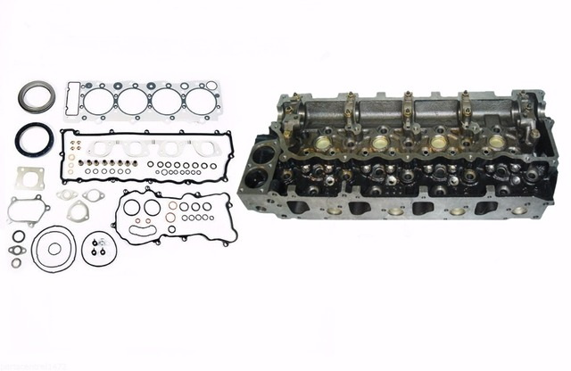 US $887 32 |Free Shipping Engine Cylinder Head +Rebuilding Kits For Isuzu  NPR Truck 4 8L 4HE1/T 8 97358 366 0 8973583660-in Cylinder Head from