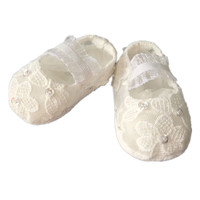 BBWOWLIN Newborn First Walkers Baby Girl Christening Gowns Shoes for 1 Year Birthday Party First Communion Dresses 121
