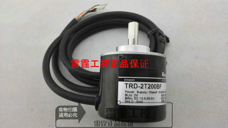 KOYO new original authentic real axis photoelectric incremental rotary encoder TRD-2T200BF koyo trd j1000 rzw 1000p r photoelectric incremental rotary encoder 1000ppr trdj1000rzw