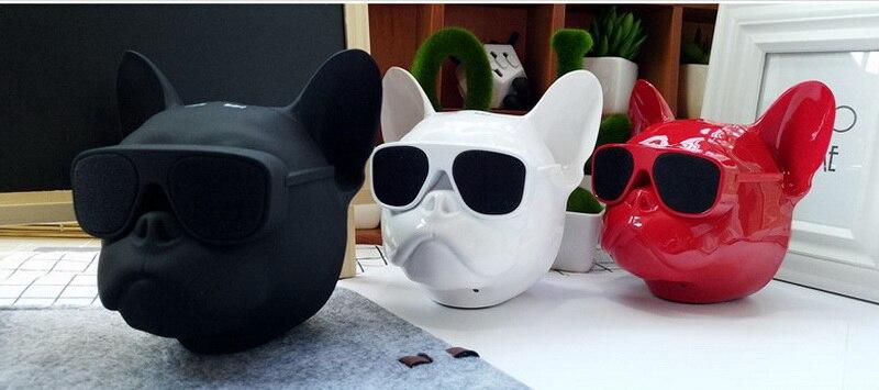 bull dog Nano Wireless Speaker Bulldog Bluetooth Speaker Outdoor Portable HIFI Bass Speaker Multipurpose Touch Control (10)