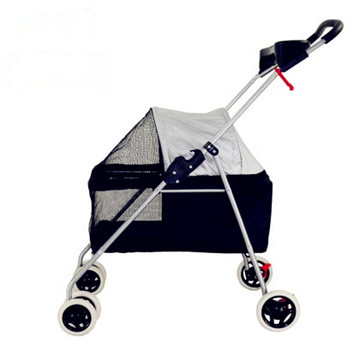 2017 Folding pet gear for middle size dog loading 15kg four wheel folded Pet Stroller/Dog Strollers 6 Colours Available