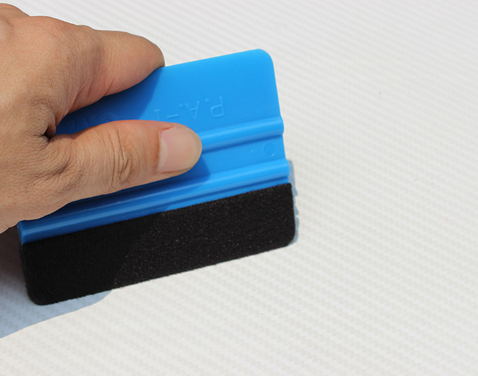 Image 3 - 10*7.5cm 3 M Hand Applicator Squeegee Felt Edge Bump Cards Bondo Squeegee With Felt For Car Wrapping PA 1F Whole Sale-in Car Stickers from Automobiles & Motorcycles