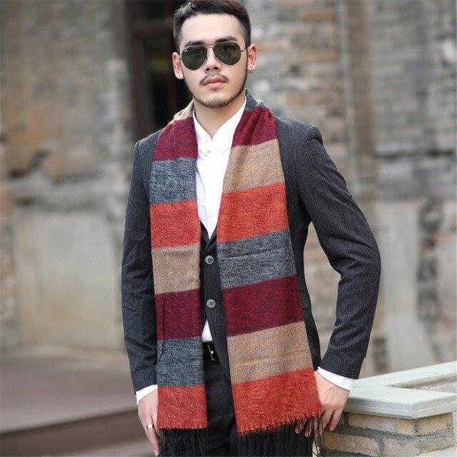 New Uomo Cool Britannico Charming Cashmere Hot Nappa Sciarpe ZznwIq5w