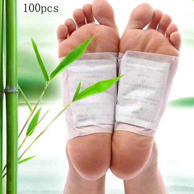 Hot Sell Multifunctional 100 pcs/set Detox Foot Pads Chinese Medicine Patches With Adhesive Organic Herbal Cleansing Patch