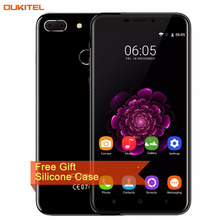 "4G OUKITEL U20 Plus 2GB/16GB Dual Rear Cameras Fingerprint Identification 5.5"" 2.5D Curved Android 6.0 MTK6737T Quad Core"