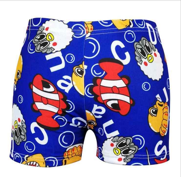 b9b2f77f41 ... Baby Boys Swimming Shorts Kids Summer Beach Bathsuit Children Casual  Cartoon Print Swimwear Pant Swim Trunk ...