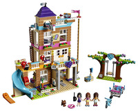 Lepin Friend Girls Series Toys 808Pcs The Friendship House Set Building Blocks Bricks Educational Toyse LegoNGLY