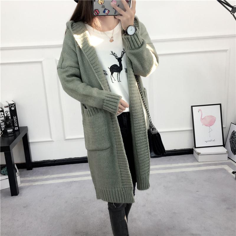 HTB1xdxFSVXXXXX7XVXXq6xXFXXXs - Women Long Knitted Sweater Coat Hooded Sweater Cardigans JKP039