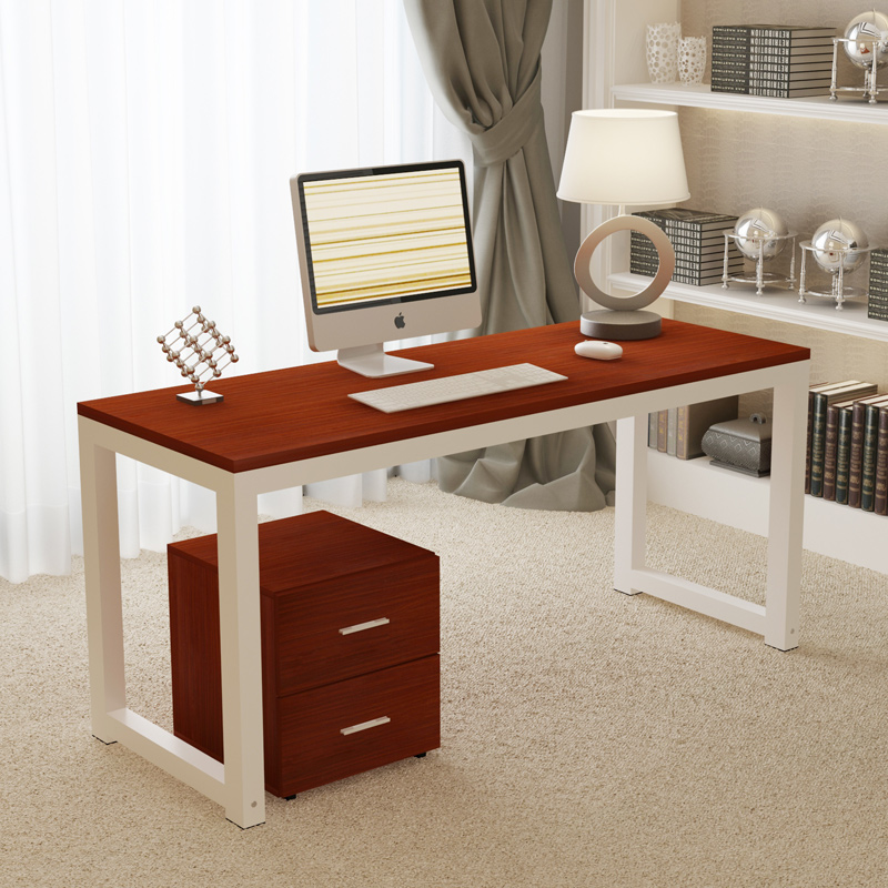 Wood Computer Desk Simple With A File Cabinet Drawer Desktop Laptop Table In Desks From Furniture On Aliexpress Alibaba Group