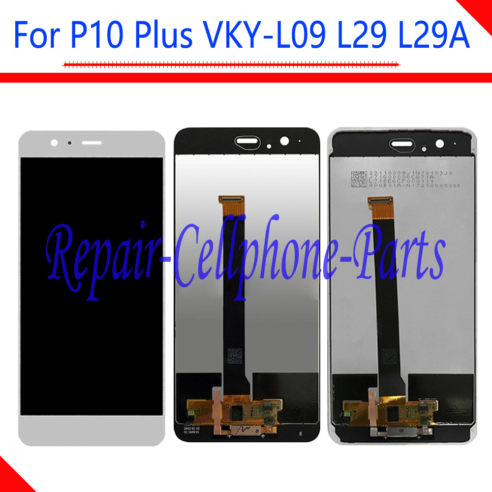 Black / White New Full LCD DIsplay + Touch Screen Digitizer With Frame Assembly For Huawei P10 Plus VKY-L09 VKY-L29 VKY-L29ABlack / White New Full LCD DIsplay + Touch Screen Digitizer With Frame Assembly For Huawei P10 Plus VKY-L09 VKY-L29 VKY-L29A