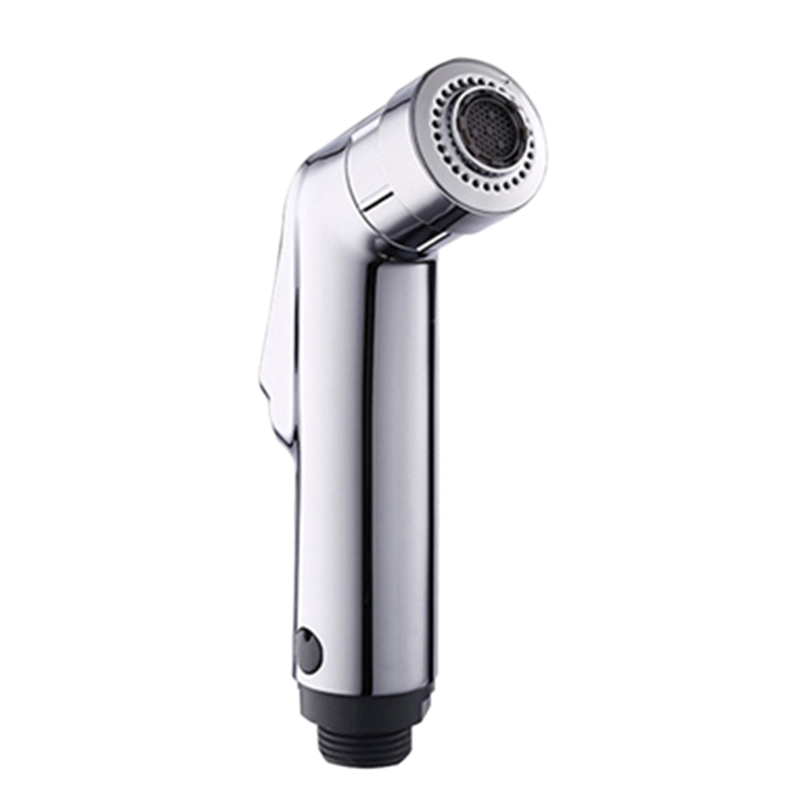 Two Function Toilet Hand Bidet Faucet Bathroom Bidet Shower Sprayer T Adapter 1.2M Hose Tank Hooked Holder Easy Install