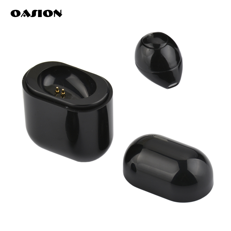 OASION wireless bluetooth headset mini Bluetooth earphone for phone In-ear wireless earphones with microhpone Handsfree earbuds 2018 new sale fineblue f980 wireless in ear handsfree with microphone headset mini bluetooth earphone