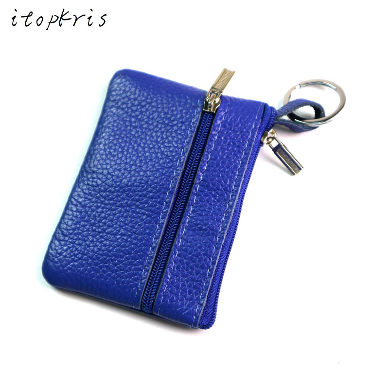 New Arrival Casual Women Housekeeper For Home Fashion Leather Coin Pouch Case Wallet Man Car Key Holder Keyring
