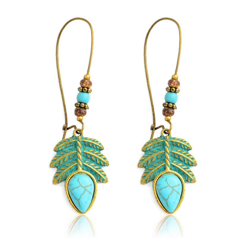 Summer Lack Minimalist Handmade Natural Opal Earrings Dream