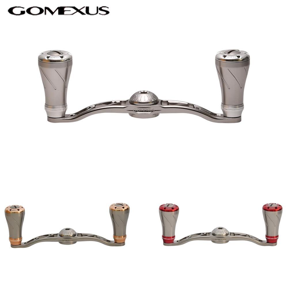 Gomexus Fishing Reel CNC Handle For Shimano Daiwa Baitcasting Reel Reel Handle 100mm As DescriptionGomexus Fishing Reel CNC Handle For Shimano Daiwa Baitcasting Reel Reel Handle 100mm As Description