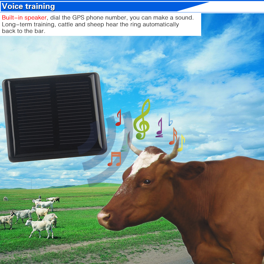HOT Global mini GPS pets animal dogs tracker RF V26 remote control animal Solar GPS long