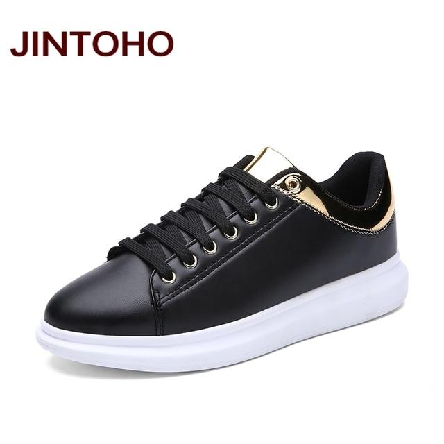JINTOHO Brand Luxury Designer Men Shoes Casual Fashion