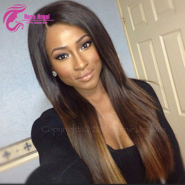 Silky straight full lace wig highlights 1b30 blonde ombre wig silky straight full lace wig highlights 1b30 blonde ombre wig with baby hair pmusecretfo Choice Image