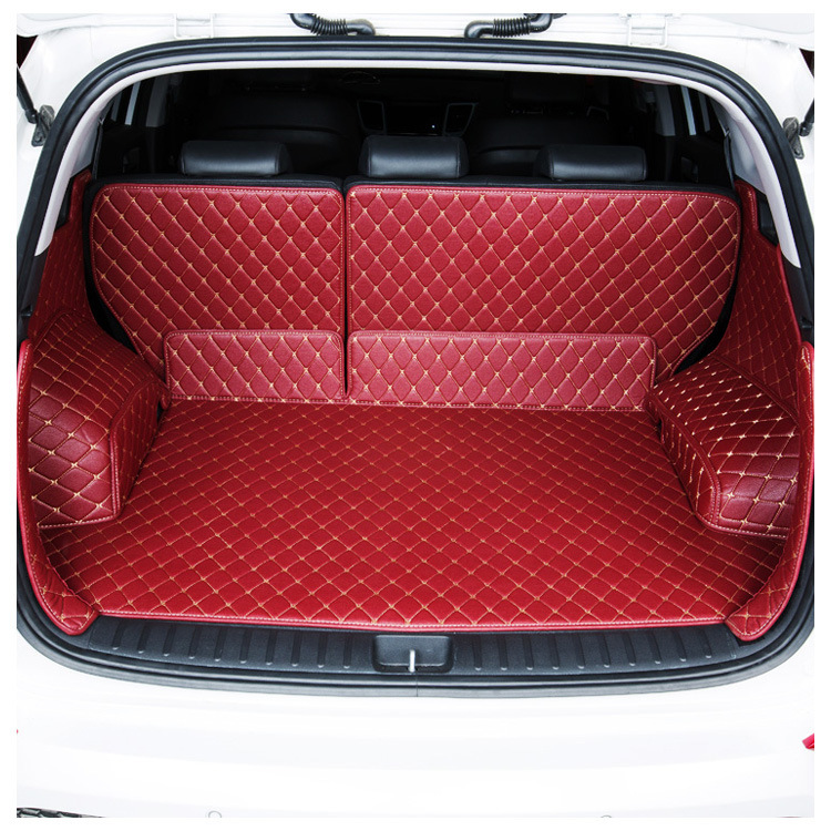 Car Cargo Liner Customized Car For Geely GS Bo Yue CX-5 CS55 VV7 GS7 CRV T700 RX5 Car Full Surrounding Trunk Mat
