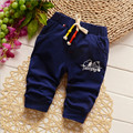 2017 New Boys Pants Harem Pants For Girls Toddler Child Trousers Baby Clothes solid cotton Pants