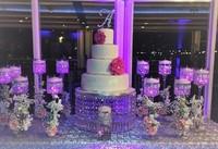 wedding crystal transparent round acrylic crystal Cake Stand wedding centerpiec,Table Centerpiece