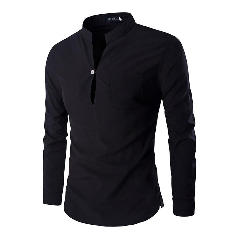 Neue Schwarz Polo-Shirt Männer Polo Homme 2016 Herbst Mens Fashion Slim Fit Langarm Henley Hemd Casual Marke Herren polo Shirts