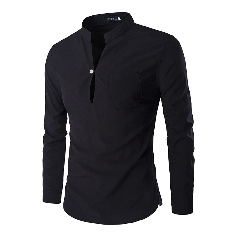 New Black   Polo   Shirt Men   Polo   Homme 2016 Autumn Mens Fashion Slim Fit Long Sleeve Henley Shirt Casual Brand Mens   Polo   Shirts