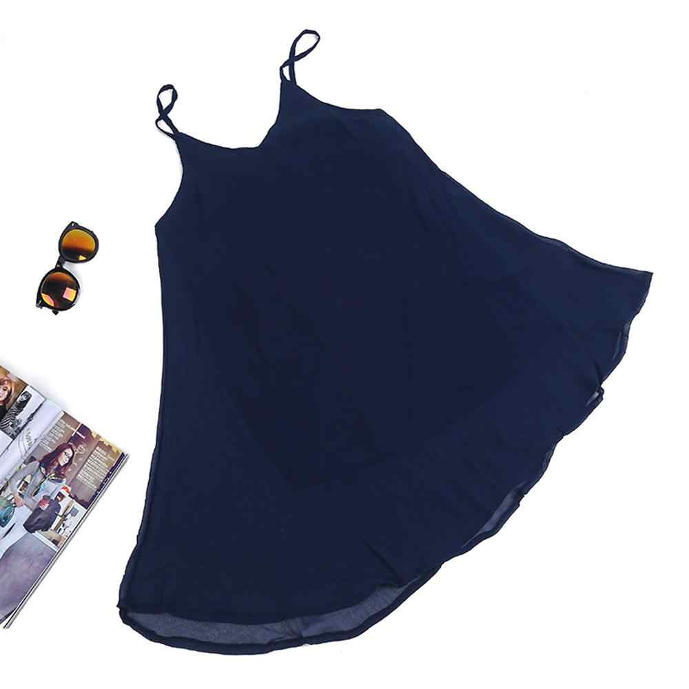 2019 קיץ סקסי חם רצועת רשת שרוולים עמוק V-צוואר מוצק צבע כבוי כתף נשים שמלה נקבה גבירותיי מפלגה שמלות