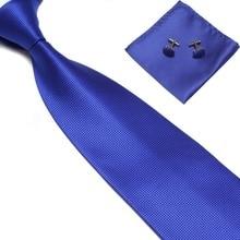 Men Tie sets cufflinks Mariage Mens Ties