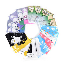 5pcs Reusable Winter Cartoon Instant Heating Gel Hand Warmer Pack Pad Handwarmer Liquid Cover Accessories(China)