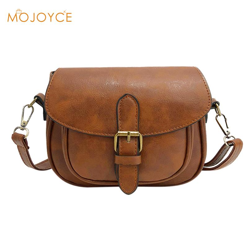 2018 Hot Casual Mini Solid Messenger Bag For Girls Crossbody Bags for Women bolsa Ladies Flap PU Leather Fashion Shoulder Bags