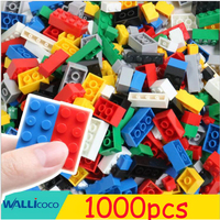 1000Pcs City Building Blocks Sets LegoINGLY DIY Creative Bricks Friends Creator Parts Brinquedos Educational Toys for Children