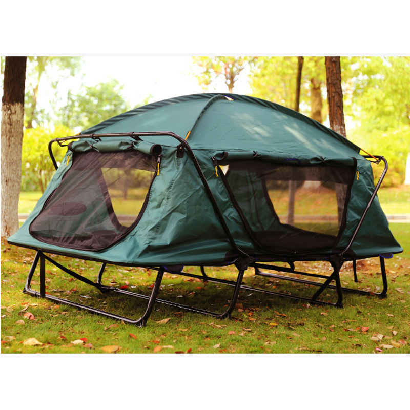 Camping Beds For Tents >> Automatic Tent 1 2 person Tent Folding Bed Outdoor