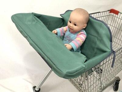 2 в 1 детская корзина гамак тележка для обеденного стула защиты антибактериальные безопасности дорожная подкладка Защитная крышка для детей - Цвет: 5