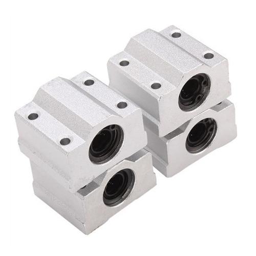 SCS8UU Linear Motion Ball Bearing CNC Slide Bushing 34.5mm Length 4pcs 8pcs lot sc8v scv8uu 8mm linear bearing bushing lm8uu linear ball bearing for 8 mm linear shaft