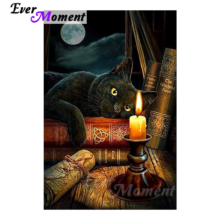 Arts,crafts & Sewing Ever Moment Diamond Painting Tiger Moon Cartoon Cross Stitch Picture Mosaic Handmade Diamond Embroidery 5d Diy Art S2f781 Fixing Prices According To Quality Of Products