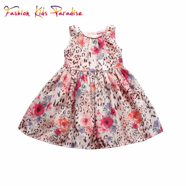 Aliexpress.com : Buy Sale 2015 New Baby Girls Summer Dress Leopard ...