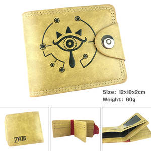 Coin Purse Link Zelda Cards-Holder Notecase Cartoon Wallet Legend Layers of The Men