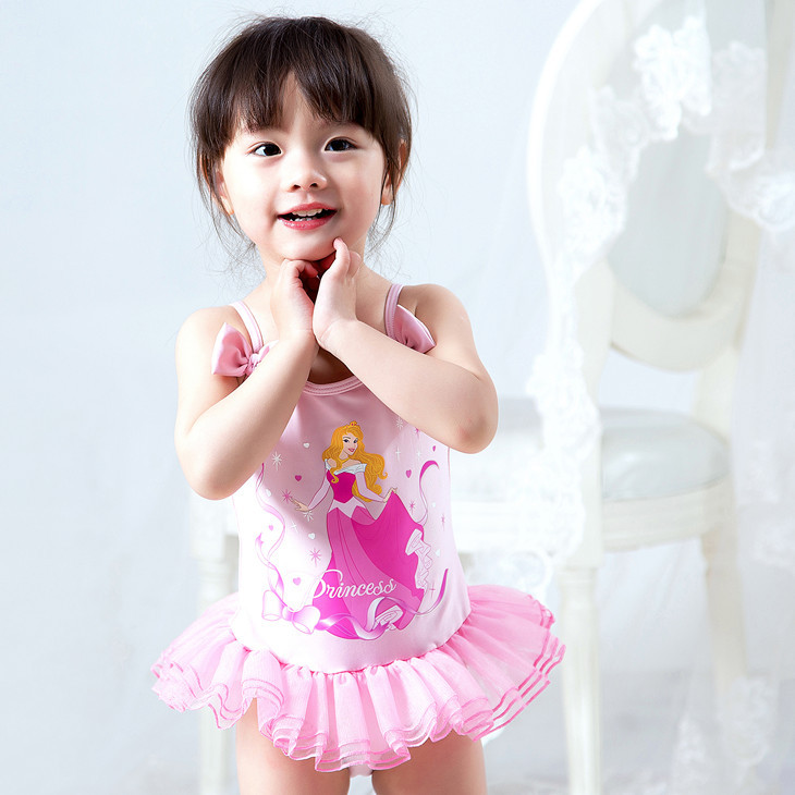 Baby girl swimsuit with tutu-6303