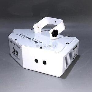 Image 4 - 6 oczy laserowe skanowanie światła DMX512 RGB pełny kolor światło laserowe liniowe + efekt obrazu oświetlenie sceniczne 6 obiektyw skaner laserowy sprzęt DJ