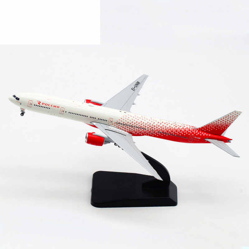 1/400 Aeroflot B777-300 EI-UNM Russian Airline Alloy Passenger Aircraft Metal Scale Model Toy Exquisite Gift Home Decoration