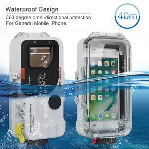 Image 5 - Seafrogs Evrensel Bluetooth Cep telefon kılıfı Kutusu Sualtı 40 m Fotoğraf iPhone Huawei Samsung Için Xiaomi Akıllı Telefon